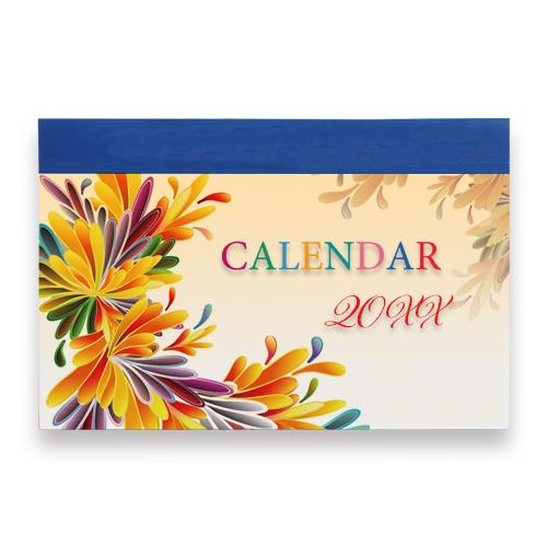オリジナル卓上カレンダー(紙製タイプ)