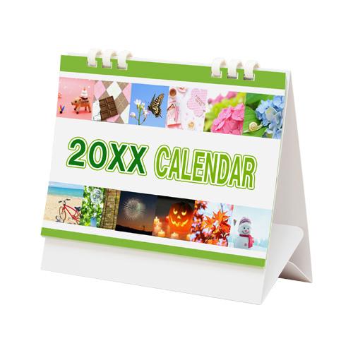 オリジナルエコリング式卓上カレンダー(大)