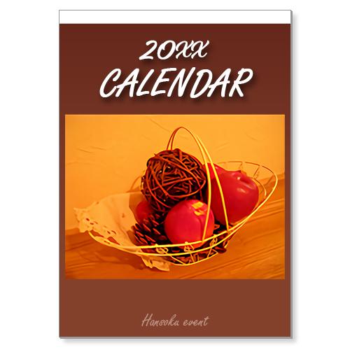 オリジナル壁掛A2カレンダー(13枚綴り)