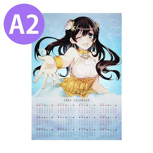 オリジナルA2クリアポスターカレンダー